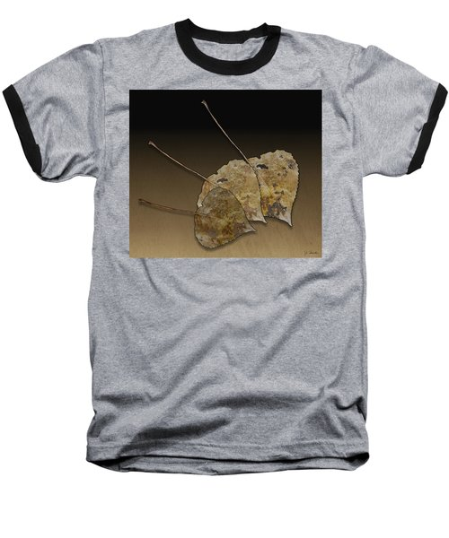 Baseball T-Shirt featuring the photograph Decaying Leaves by Joe Bonita