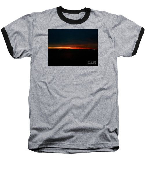 December Dawn,  Rays Of Hope  Baseball T-Shirt by Patricia E Sundik
