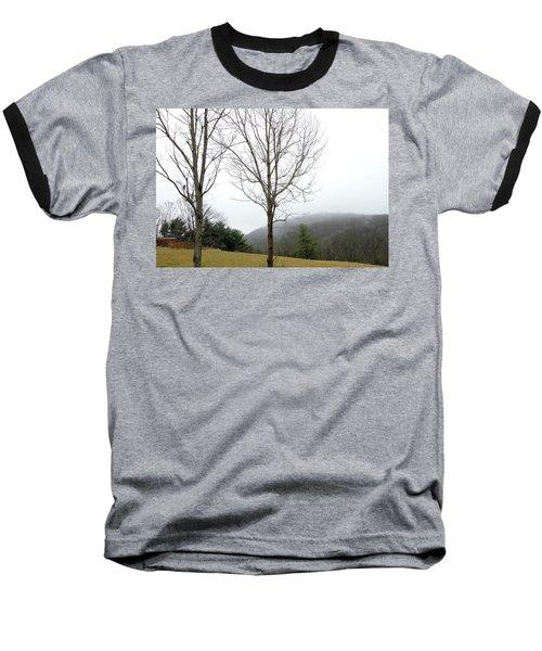 December Mist Baseball T-Shirt