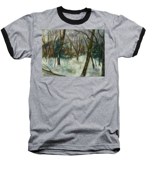 December On Cooper Hill Baseball T-Shirt