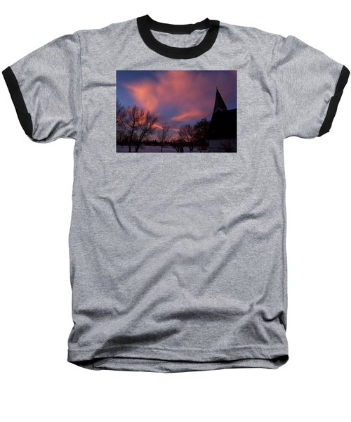 December Skies Baseball T-Shirt