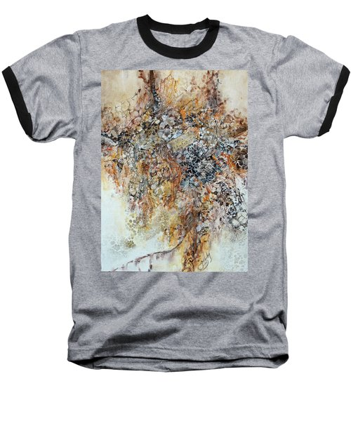 Baseball T-Shirt featuring the painting Decomposition  by Joanne Smoley