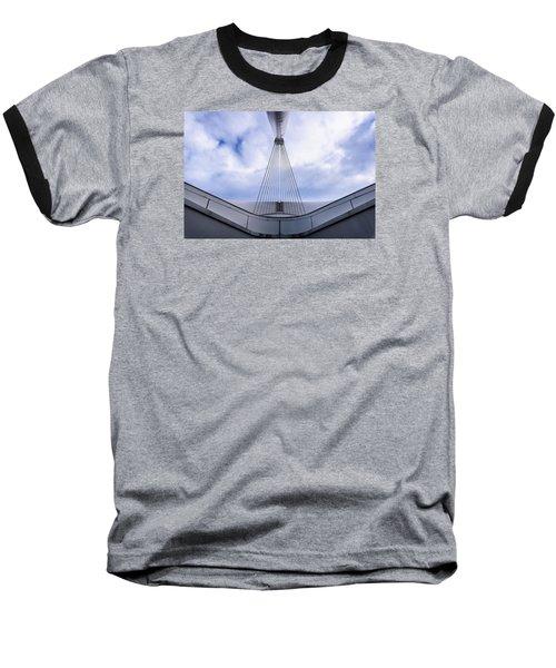 Deconstruction Theory Baseball T-Shirt by Randy Scherkenbach