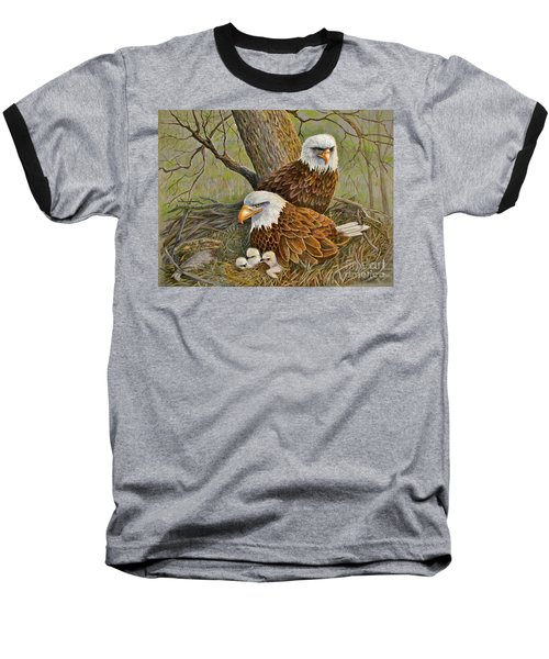 Decorah Eagle Family Baseball T-Shirt
