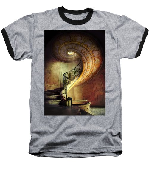 Decorated Spiral Staircase  Baseball T-Shirt