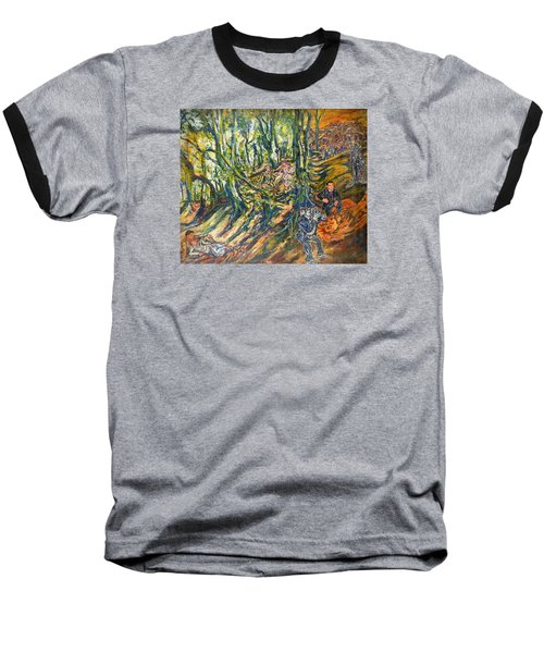 Dedicated To The Memory Of Cecil The Lion Baseball T-Shirt
