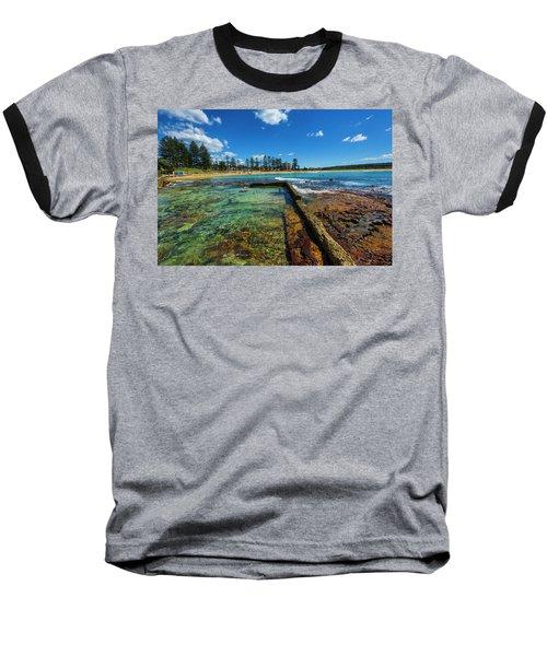 Dee Why Rock Pool Baseball T-Shirt