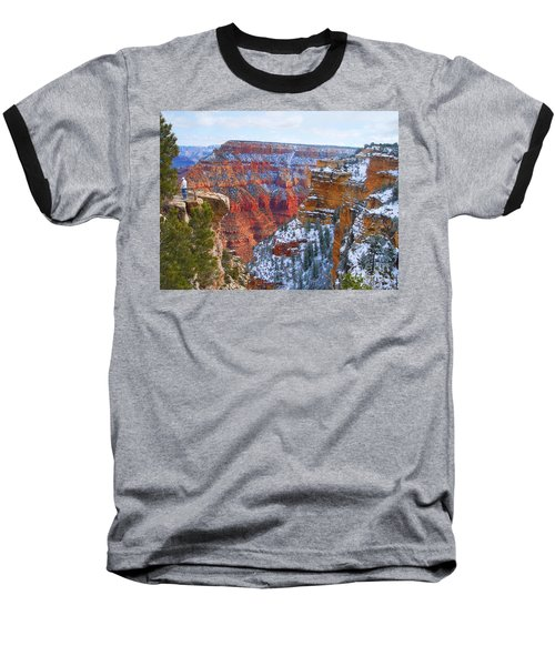 Baseball T-Shirt featuring the photograph Deep And Wide by Roberta Byram