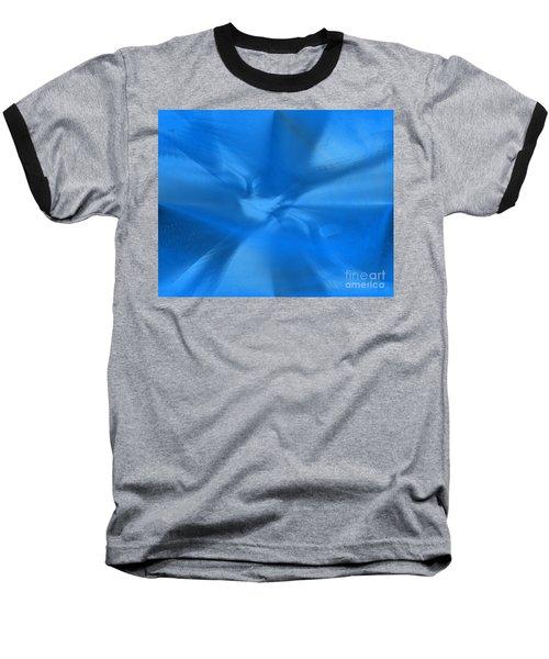 Deep Blue Baseball T-Shirt by Yul Olaivar