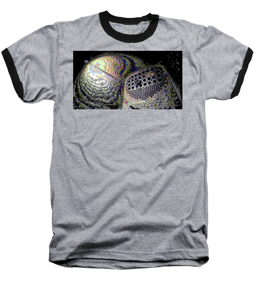 Baseball T-Shirt featuring the digital art Deep Dark by Ron Bissett