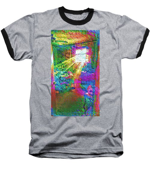 Deep Dream Baseball T-Shirt