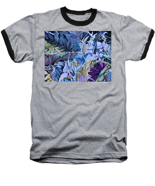 Baseball T-Shirt featuring the painting Deep Dreams by Mindy Newman