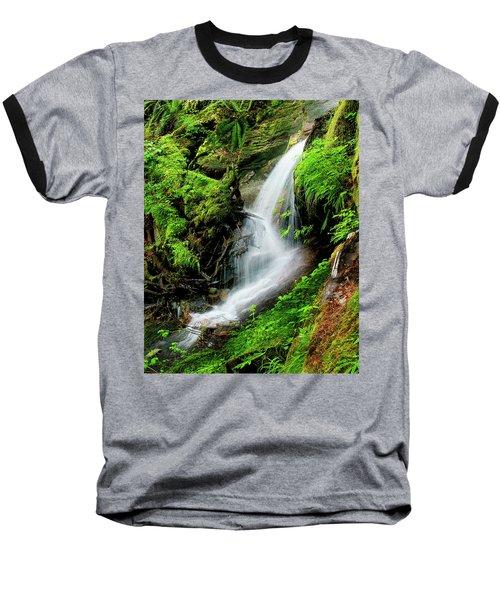 Deep Forest Falls Baseball T-Shirt