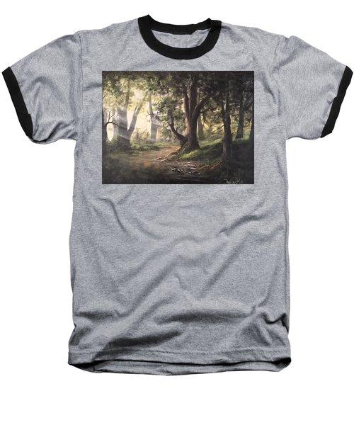 Deep Forest Rays  Baseball T-Shirt