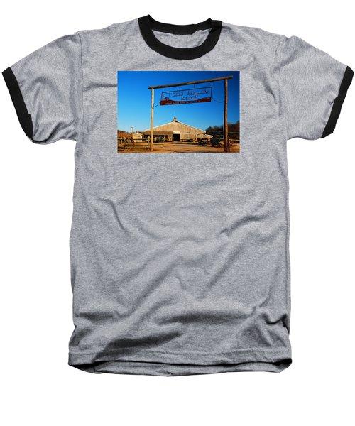 Baseball T-Shirt featuring the photograph Deep Hollow Ranch  by James Kirkikis