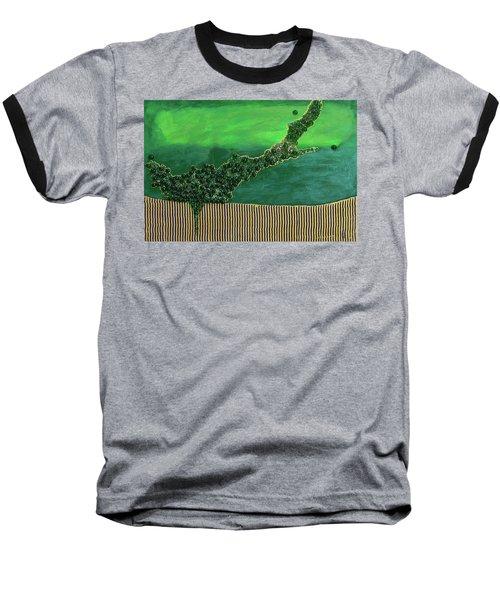 Deep Impact Baseball T-Shirt by Donna Blackhall