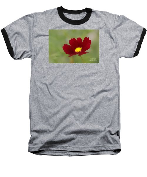 Baseball T-Shirt featuring the photograph Deep In Red by Yumi Johnson