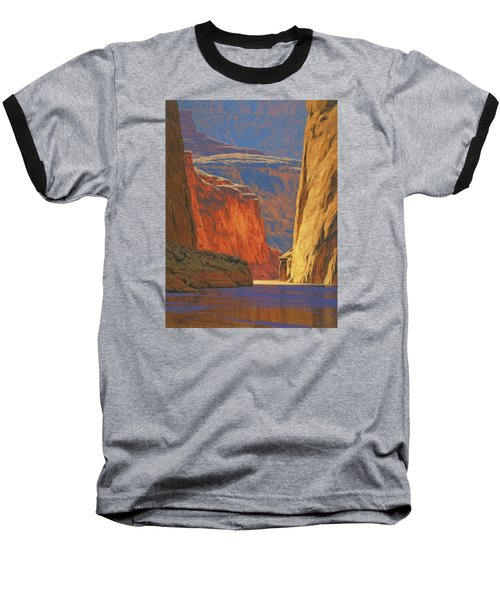 Deep In The Canyon Baseball T-Shirt by Cody DeLong