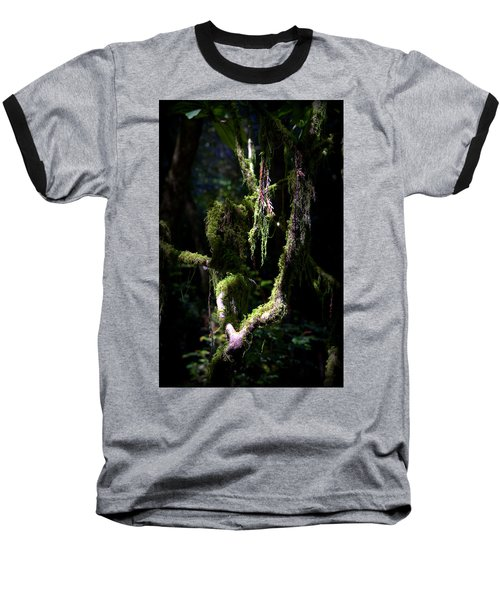 Baseball T-Shirt featuring the photograph Deep In The Forest by Lori Seaman