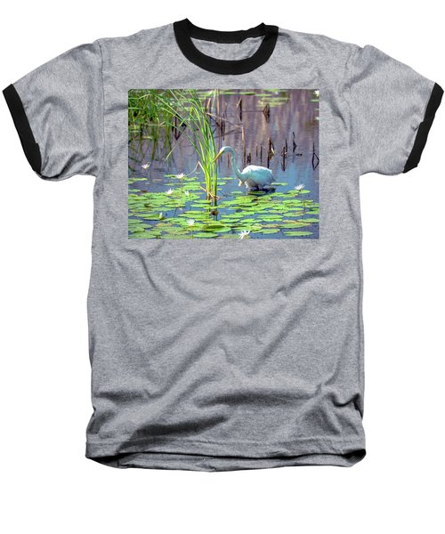 Deep In The Water Baseball T-Shirt