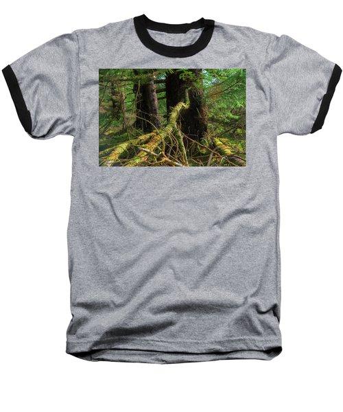 Deep In The Woods Baseball T-Shirt
