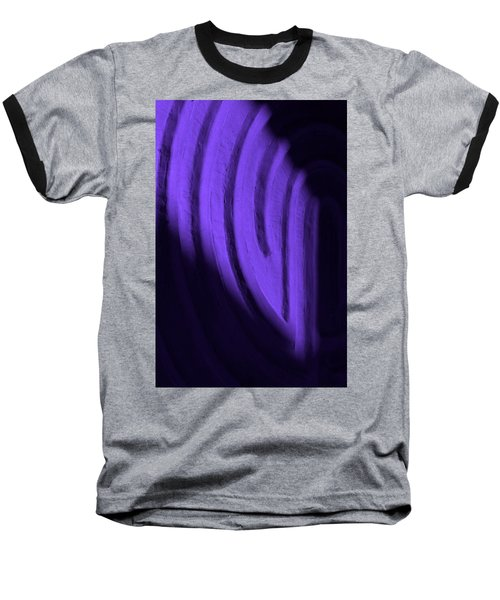 Deep Maze Baseball T-Shirt by Josephine Buschman