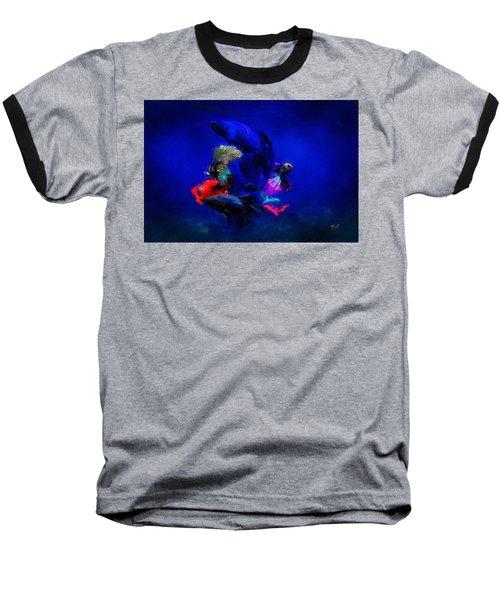Deep Oceans Baseball T-Shirt