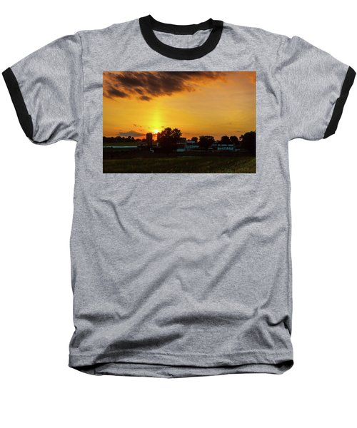 Deep Orange Farm Baseball T-Shirt