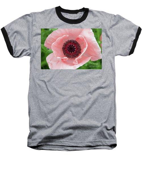 Deep Pink Baseball T-Shirt