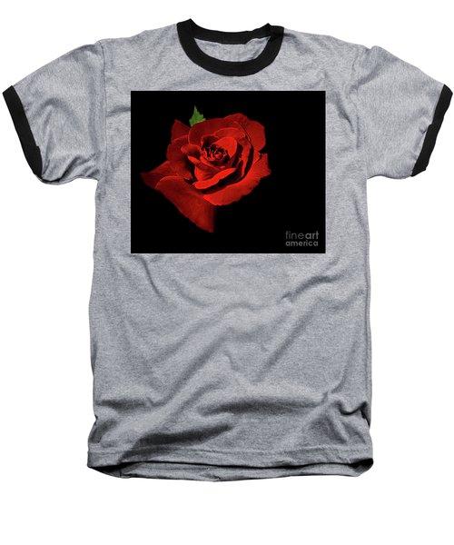 Deep Red Baseball T-Shirt