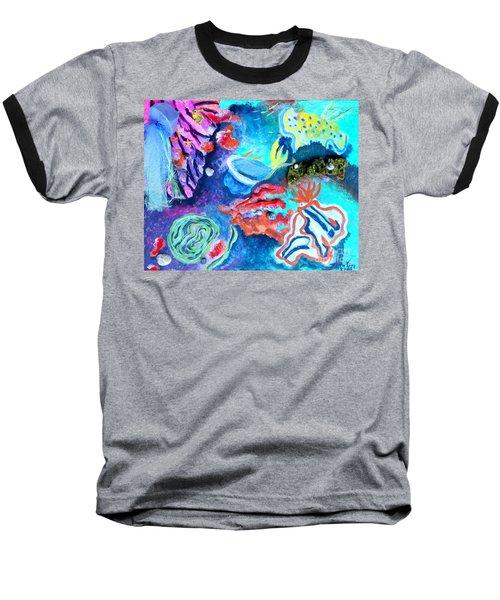Deep Sea Nudibranch Baseball T-Shirt