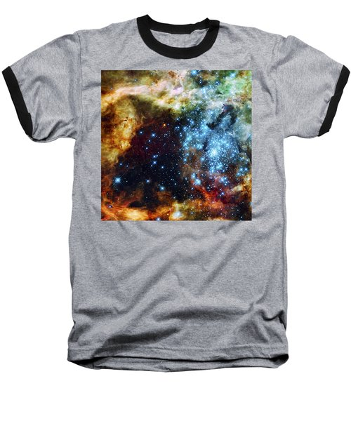 Deep Space Fire And Ice 2 Baseball T-Shirt