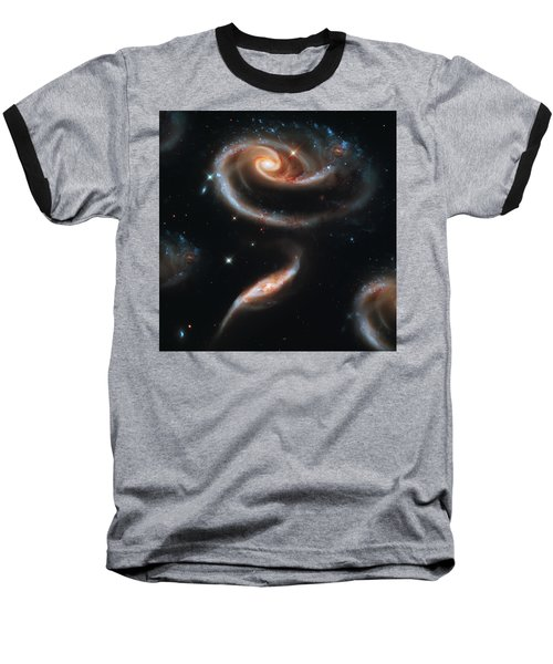 Deep Space Galaxy Baseball T-Shirt