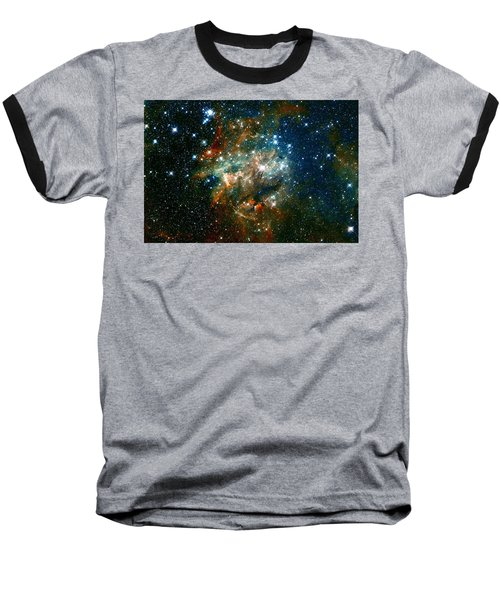 Deep Space Star Cluster Baseball T-Shirt