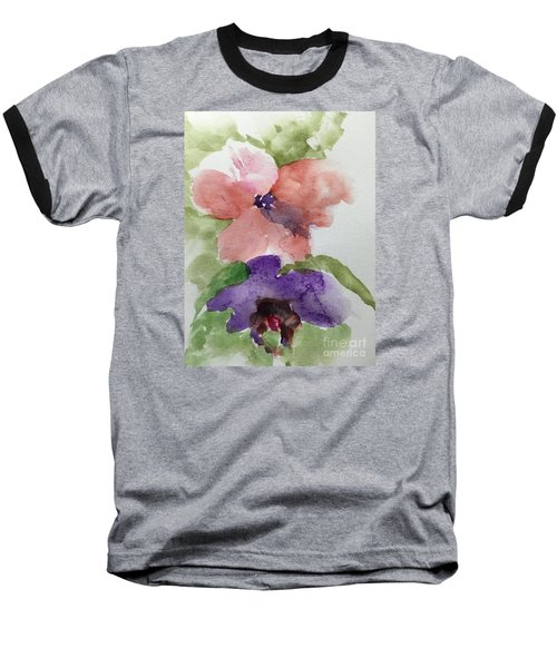 Baseball T-Shirt featuring the painting Deep Within by Trilby Cole