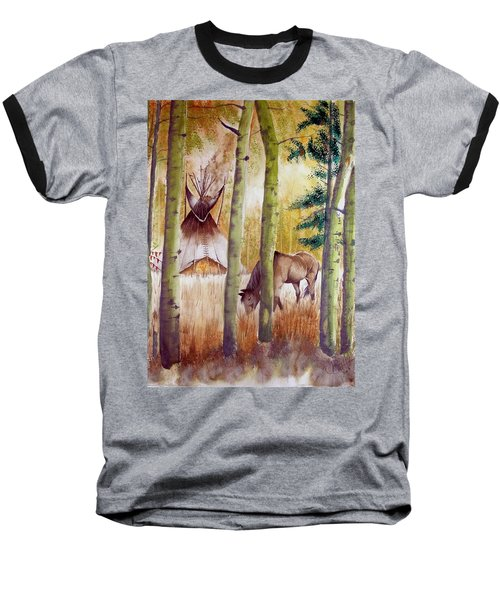 Deep Woods Camp Baseball T-Shirt