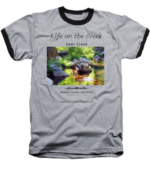 Deer Creek Ferns Baseball T-Shirt