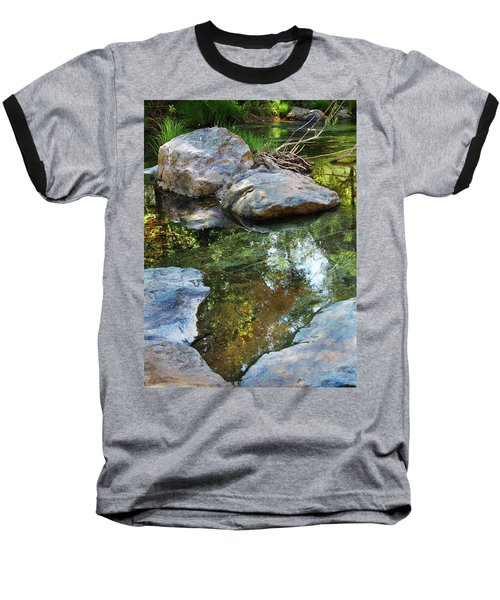 Deer Creek Point Print Baseball T-Shirt