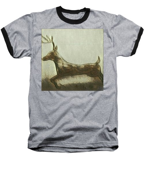 Deer Energy Baseball T-Shirt