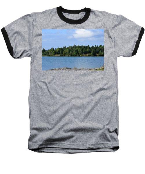 Deer Isle, Maine No. 5 Baseball T-Shirt
