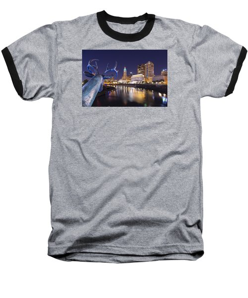 Deer View Columbus Baseball T-Shirt