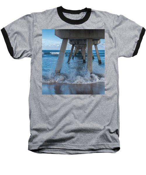 Deerfield Pier Baseball T-Shirt
