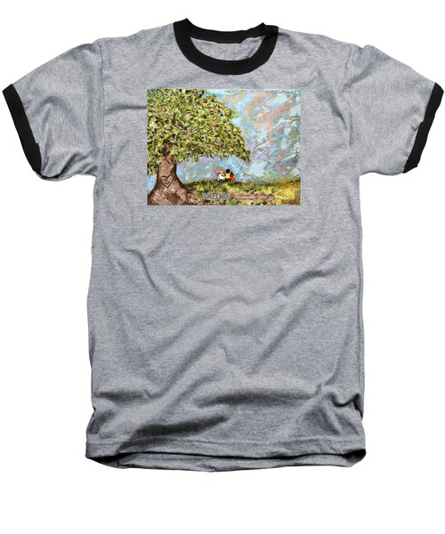 Defend The Fatherless Baseball T-Shirt by Kirsten Reed