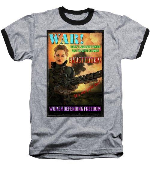 Defending Freedom Baseball T-Shirt