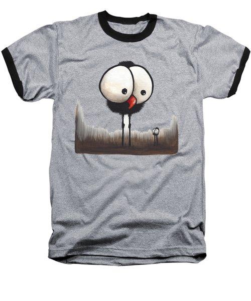 Defiant Little Spider Baseball T-Shirt