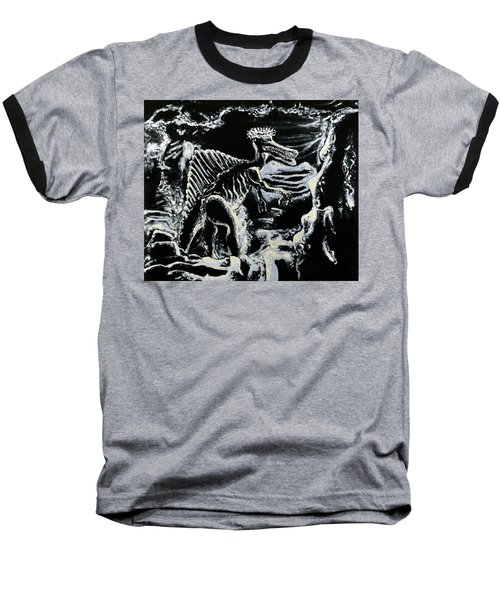 Deinos Sauros    Baseball T-Shirt