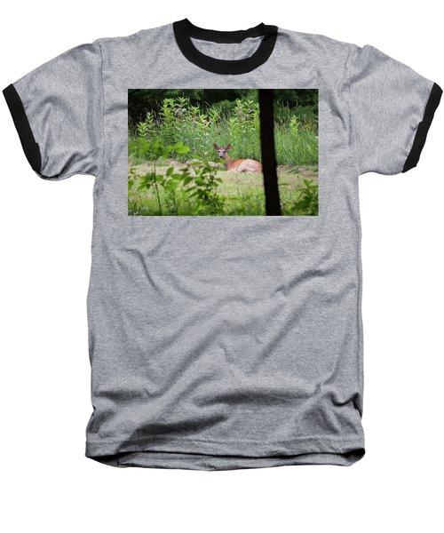Baseball T-Shirt featuring the photograph Del-1 by Ellen Lentsch