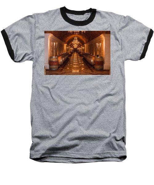 Del Dotto Wine Cellar Baseball T-Shirt