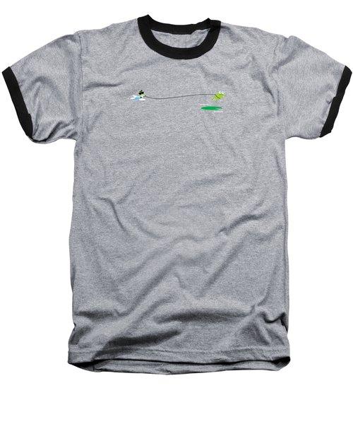 Del Jetski Baseball T-Shirt