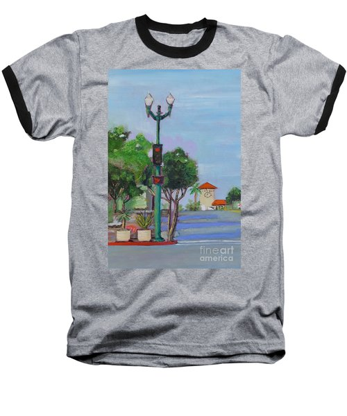 Del Mar And Ole Vista Baseball T-Shirt